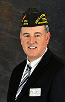 VFW Junior Vice Commander Tim Borland