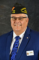 VFW National Commander Hal Roesch