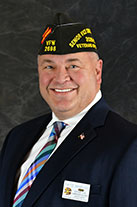 VFW Senior Vice Commander Michael 'Fritz' Mihelcic