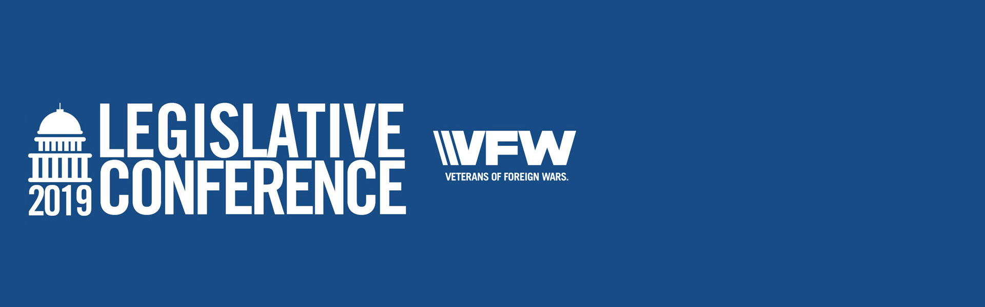 2019 VFW Legislative Conference March 3-6
