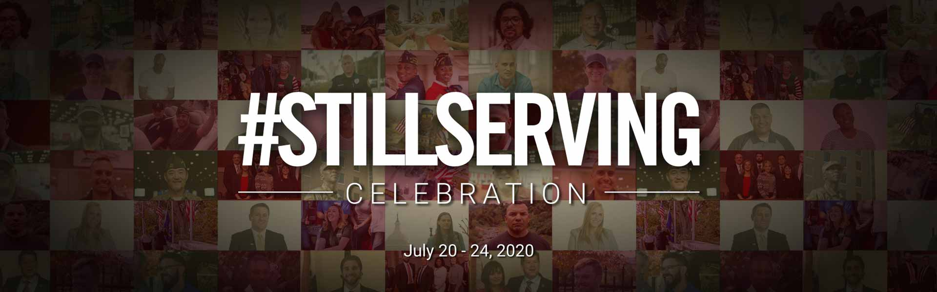 The VFW's #StillServing Celebration, July 20-24, 2020, honors the many ways America's veterans continue to serve their community long after their military service ends