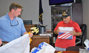 Indiana VFW Posts Donate Service Flags to County Veterans Court Insert