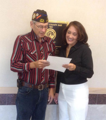 VFW Post 3360 helps local cemetary