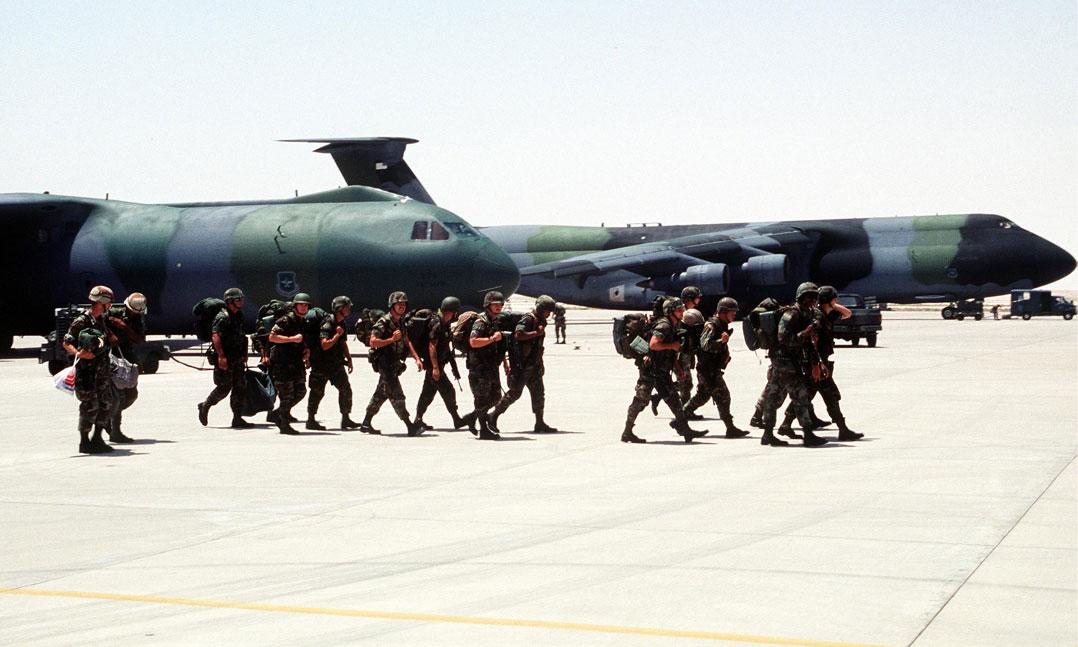 Gulf War Desert Storm