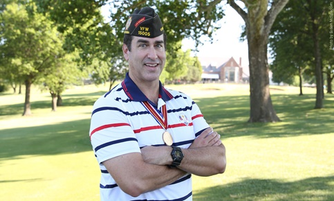 Rob Riggle VFW