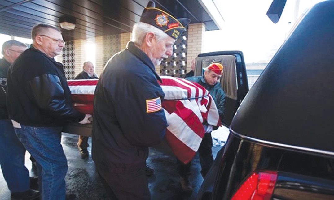 Homeless Salute VFW