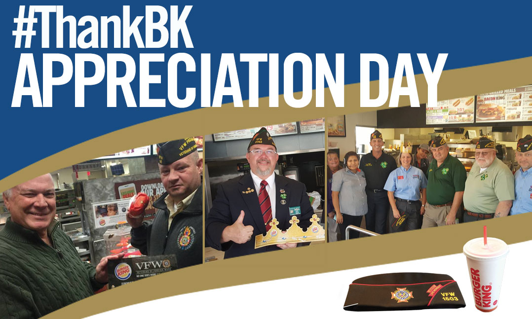 2018 VFW #ThankBK Day