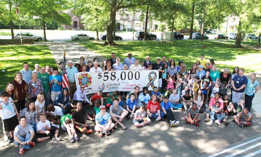 VFW Post raises 165000 for local Autism programs
