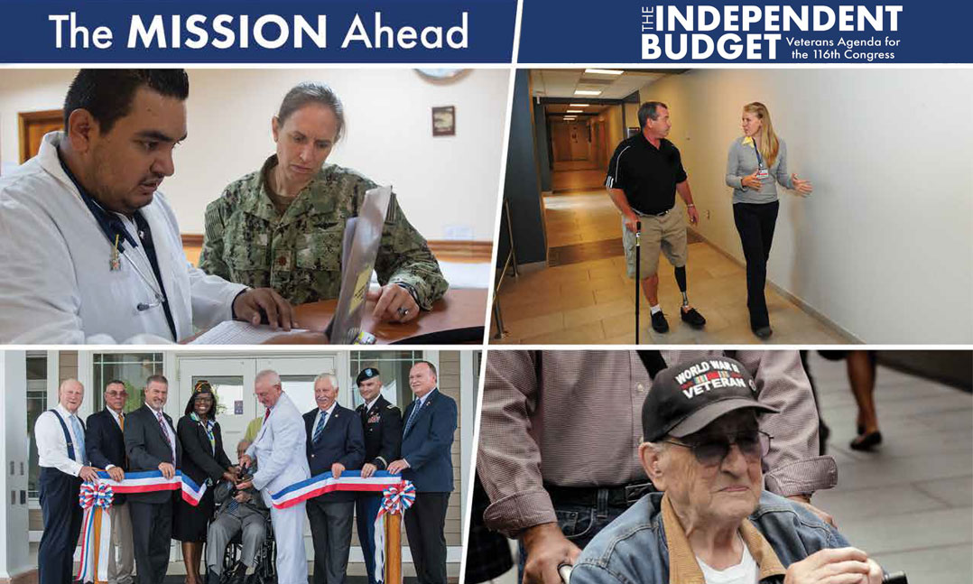 Veterans Service Organizations Issue The Independent Budget Policy Agenda for 116th Congress