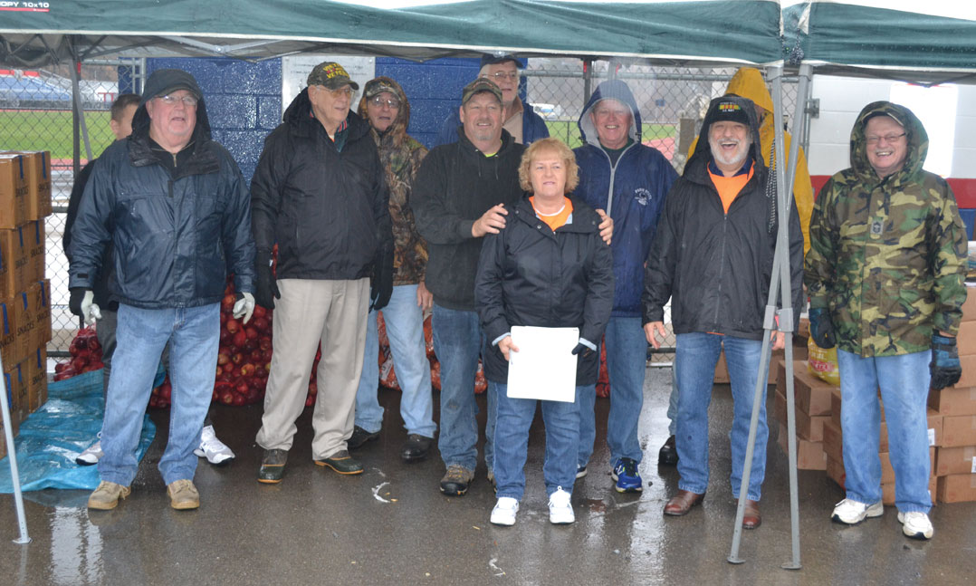 VFW Post helps feed hungry veterans