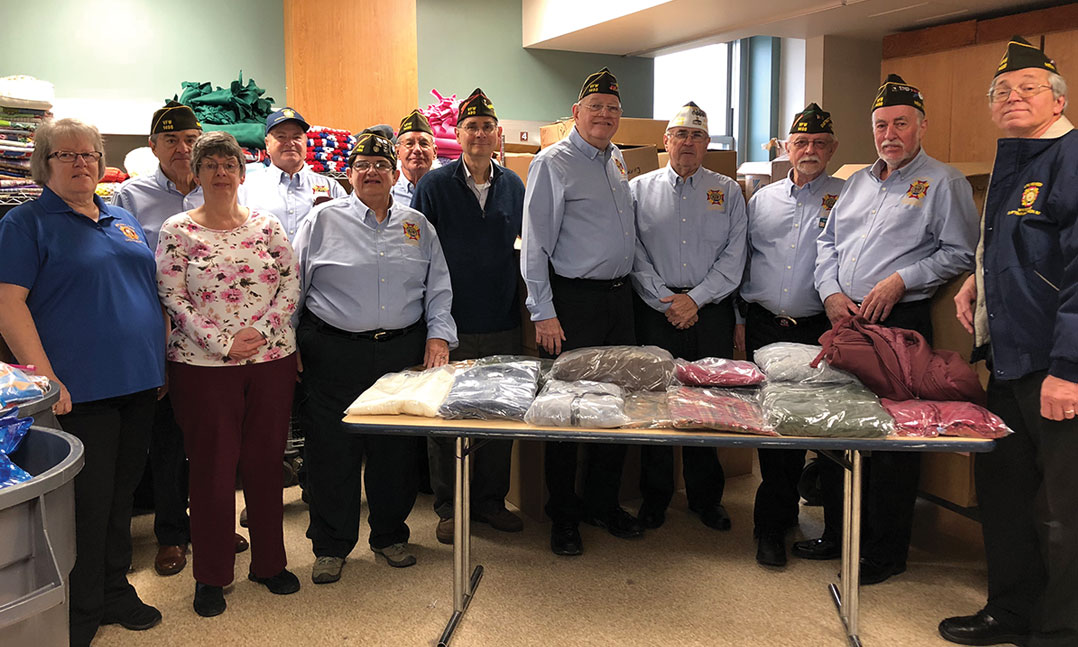 VFW teams up with retailer to clothe veterans in need
