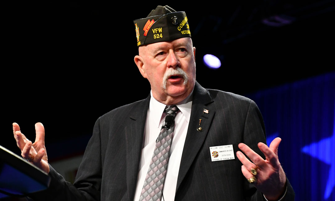 Doc Schmitz Elected VFW Commander-in-Chief
