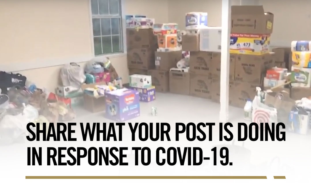 VFW Post response to COVID-19