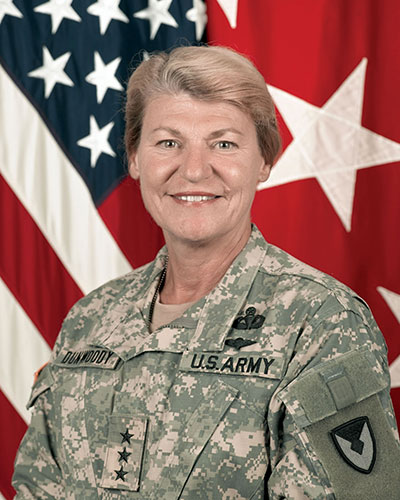VFW recognizes Women's History Month  bu honoring veteran Ann E Dunwoody
