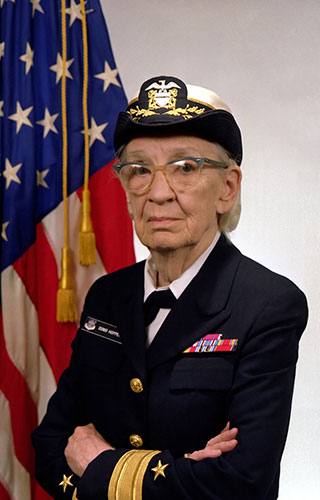 VFW recognizes Women's History Month  bu honoring veteran Grace Hopper