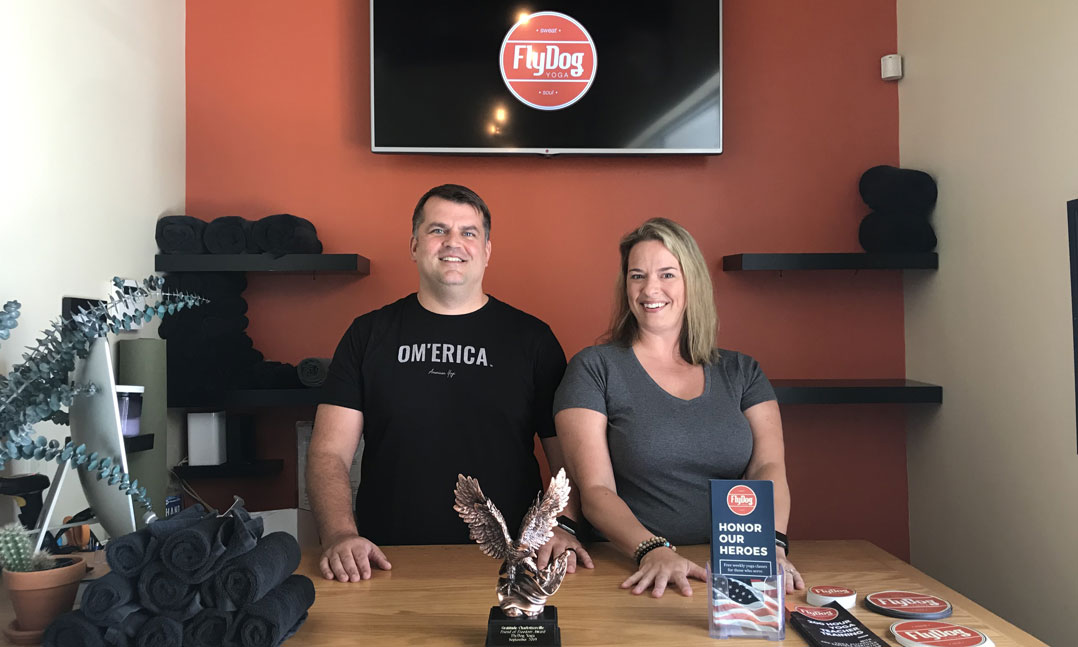 VFW member and his wife open a yoga studio for veterans