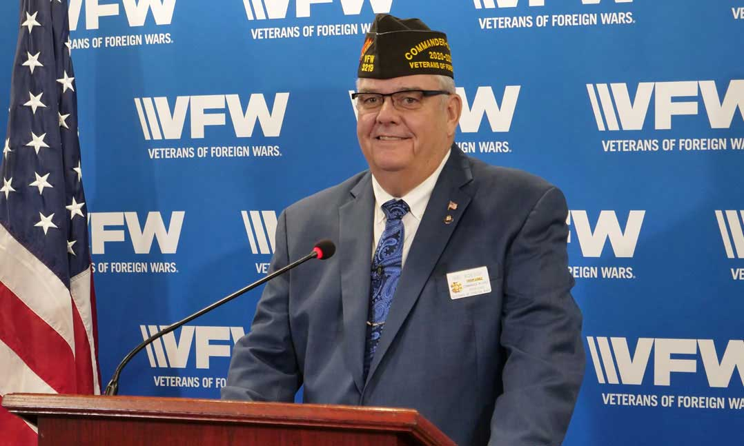 Hal Roesch II Installed and the new VFW National Commander