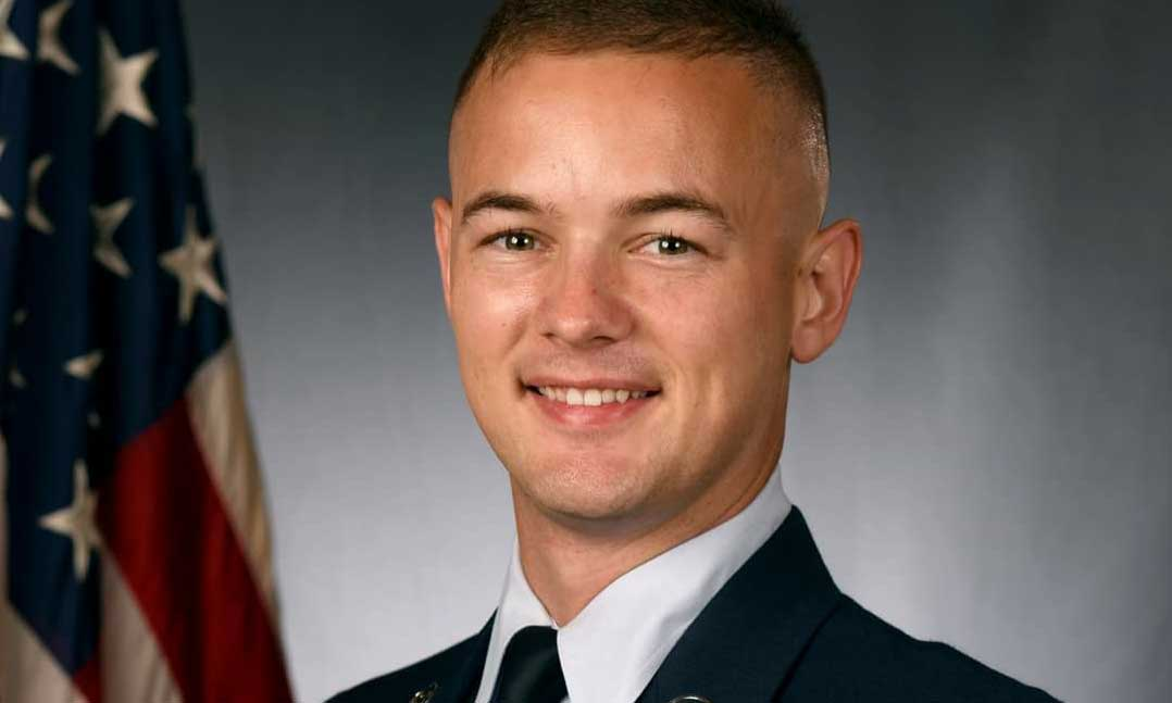 Air Force veteran Christopher Stuebbe