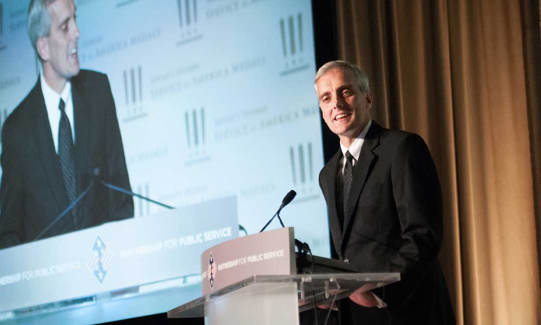 Department of Veterans Affairs Secretary Denis McDonough