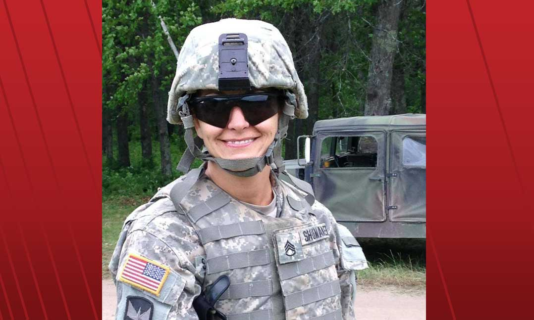 Minnesota Army National Guardsman Jennifer Shumaker