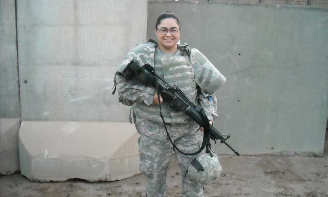 Army Veteran Angelina Christian