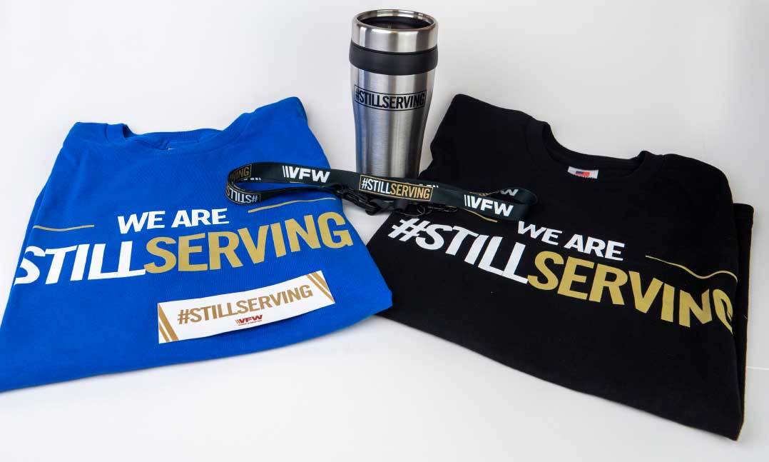 StillServing merchandise is available for purchase