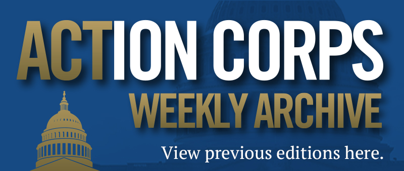 View past Action Corps Weekly newsletter