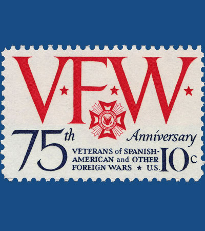 VFW 75 US Stamp