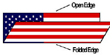 Folding Flag - Step 1