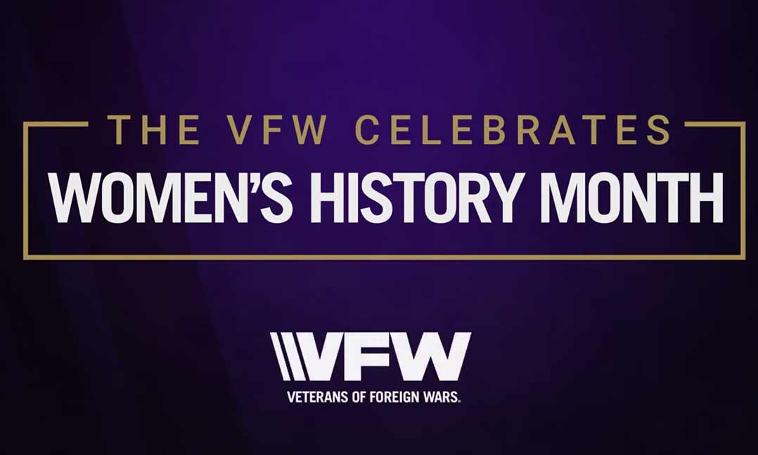 The VFW celebrates Women's History Month