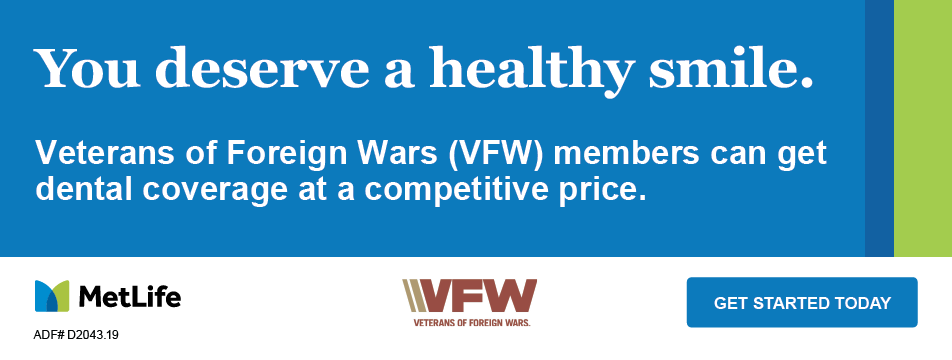 VFW Dental Insurance through MetLife for members