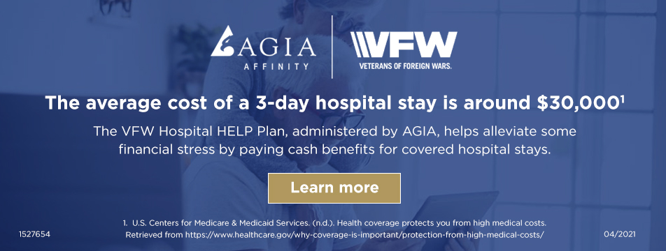 VFW hospital Indemnity Plan saves you more on hospital stays