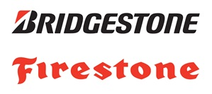 Bridgestone and Firestone Logo