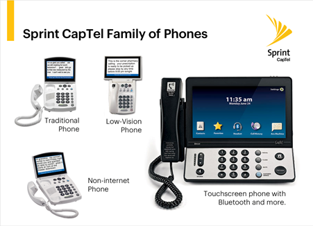 Sprint CapTel Phone