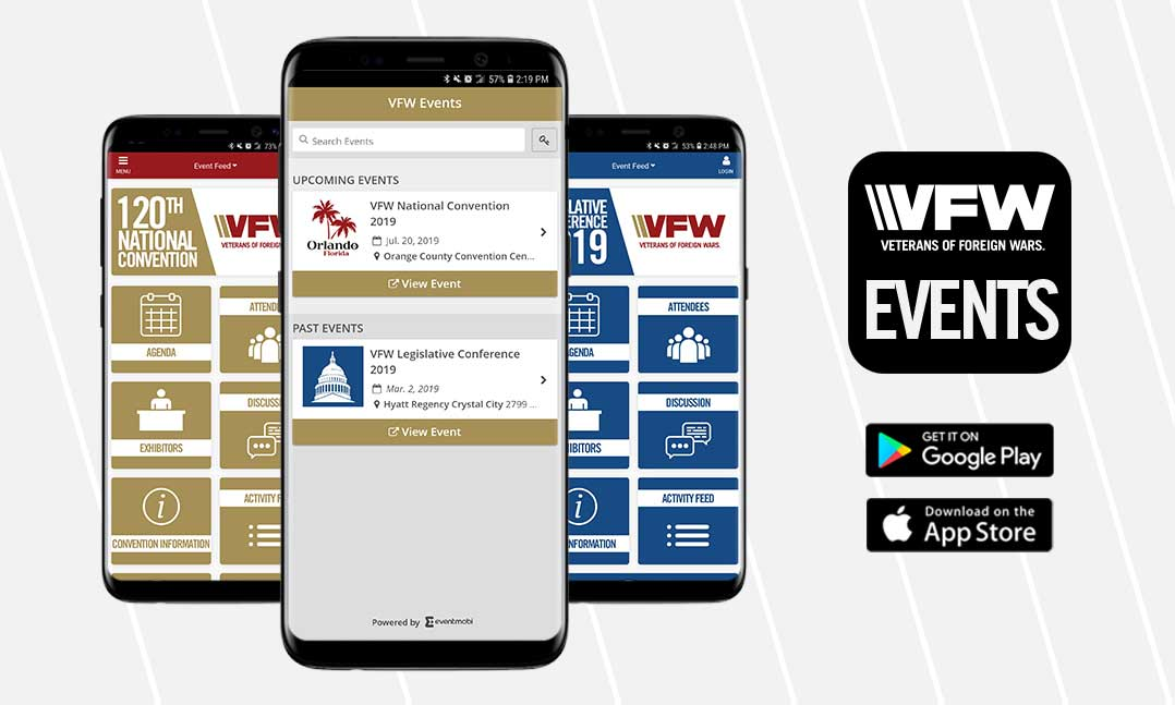 VFW Events App 2019
