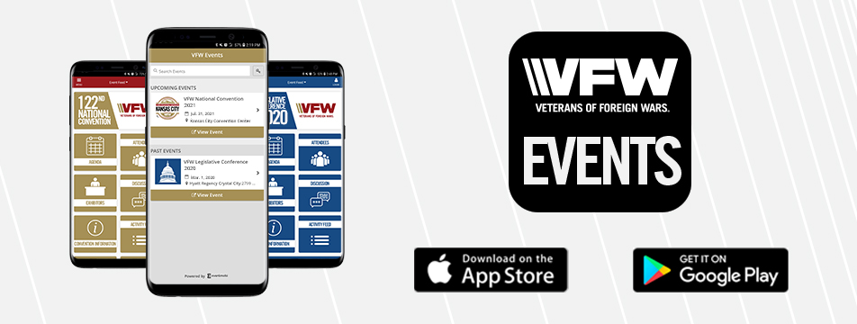 122nd VFW National Convention is live in the VFW Events App