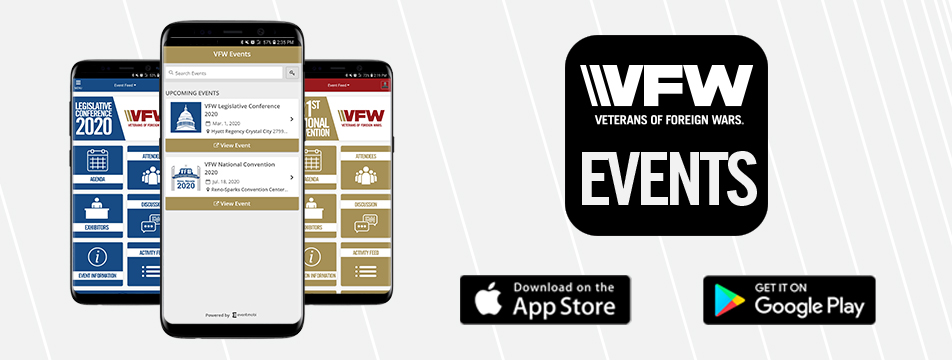 VFW Events - Legislative Conference Web Page CTA