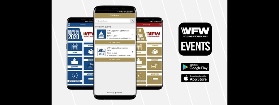 VFW Events Legislative Conference App