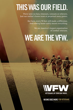 VFW This Was Our Field Poster