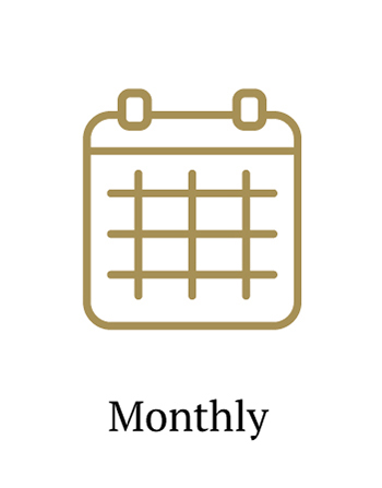 Calendar Ways to Give Monthly