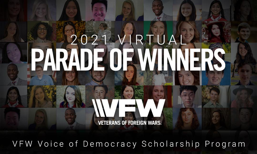 2021 VFW Virtual Parade of Winners