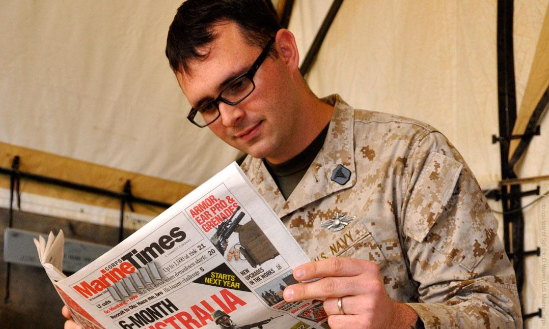 Military Newspaper